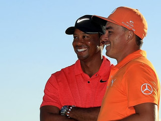 Tiger Woods follows Rickie Fowler's final-round 61 with 2018 majors pledge