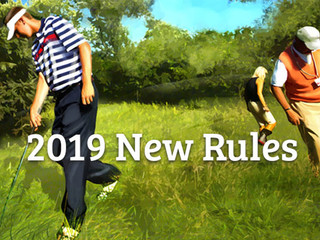 Happy New Year... golf's new modernised rules have landed! In no particular order, we list the m