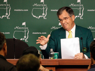 Augusta National chairman Billy Payne is always the most interesting person in the room