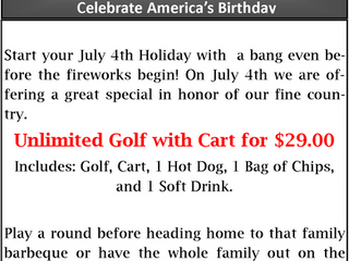 Celebrate July 4 With Us