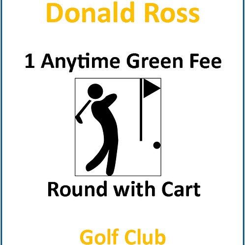 Single (1) Anytime Round of Golf with Cart