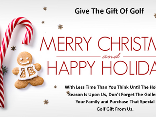 Golf Is A Great Gift To Give