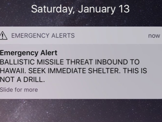 Players react to alert of ballistic missile: 'Grab a Mai Tai, go to the beach, grab a front row