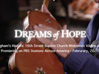 Dreams of Hope: Birmingham's 16th Street Baptist Church Welcomes Violins of Hope - Premiering on