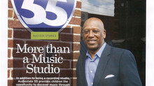 Birmimgham Magazine's Focus on Audiostate 55 in July Issue (Download Here)