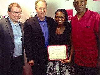 Woodlawn Music Tech Student Ayanna Jacobs-El Receives Prestigious Berklee College of Music President