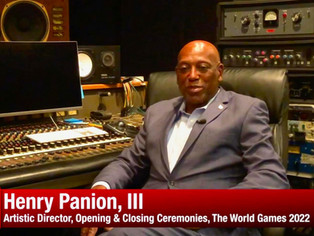 Dr. Henry Panion III named Artistic Director of the World Games 2022 Opening and Closing Ceremonies