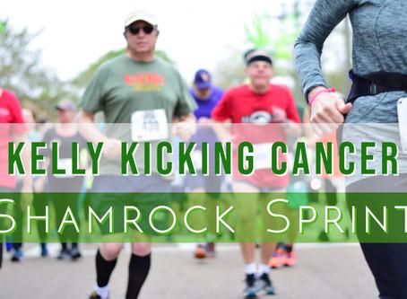 Kelly Kicking Cancer: Shamrock Sprint