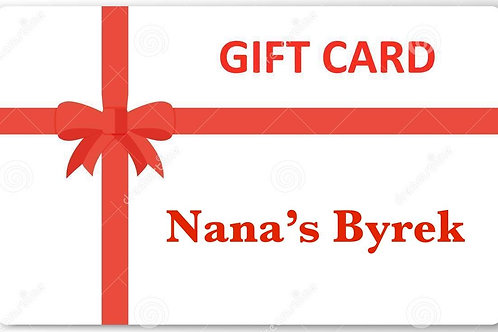 Give the gift of Nana's Byrek value $50