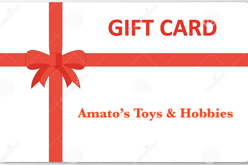 Give the gift of Amato's Toys in New Britain value $25