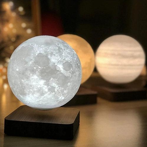 Magnetic Levitation Moon Lamp