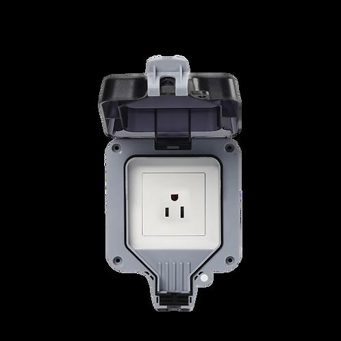 US Outdoor Waterproof Smart Wall Socket