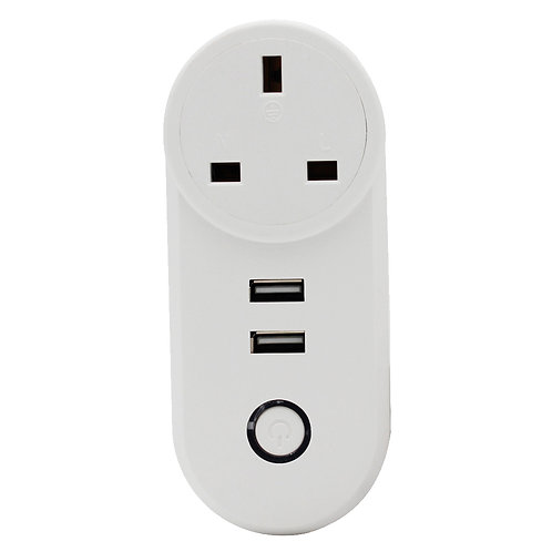 UK USB Smart Plug