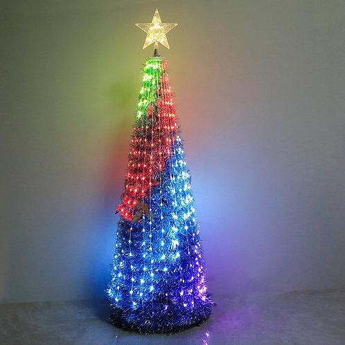 Christmas Tree Decoration PVC String Lights