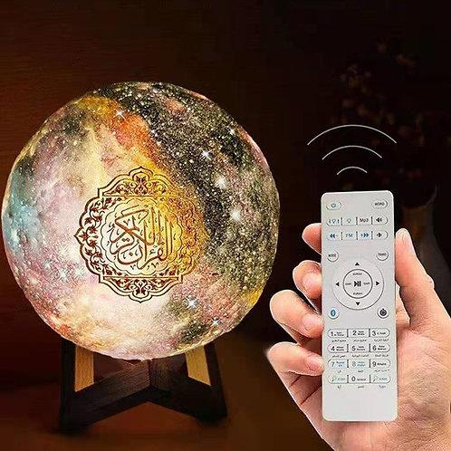 Quran Speaker Moon Lamp