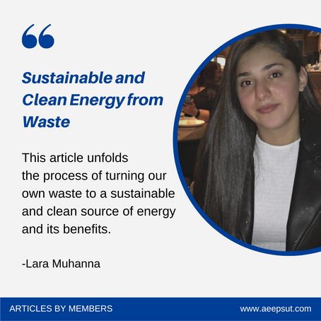 Sustainable & Clean Energy from Waste
