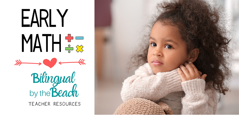 Here you will find bilingual early math lessons, activities, games, interactive task cards, counting, calendar, number corner, anchor charts, digital and printable products and ideas for kindergarten and preschool teachers in digital and printable formats.or Kindergarten and Preschool.png