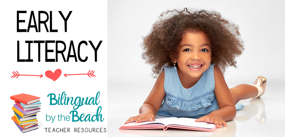 Here you will find bilingual early reading lessons, activities, games, interactive task cards, anchor charts, reading centers and station set up ideas, digital and printable products and ideas for kindergarten and preschool teachers in digital and printable formats.