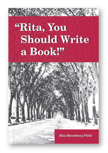 Rita, You Should Write a Book