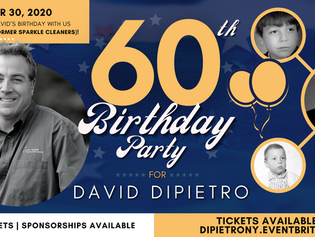 OCT 30: Come Celebrate David's Birthday with us at 434 Olean Road (former Sparkle Cleaners)!