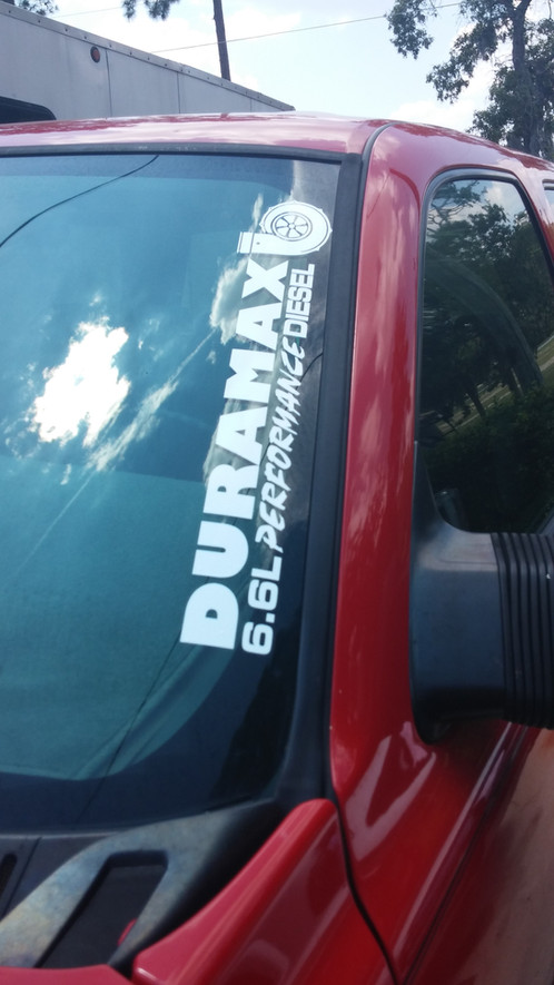 DURAMAX Performance Turbo Diesel Decal Chevy GMC Performance - Chevy duramax diesel decals