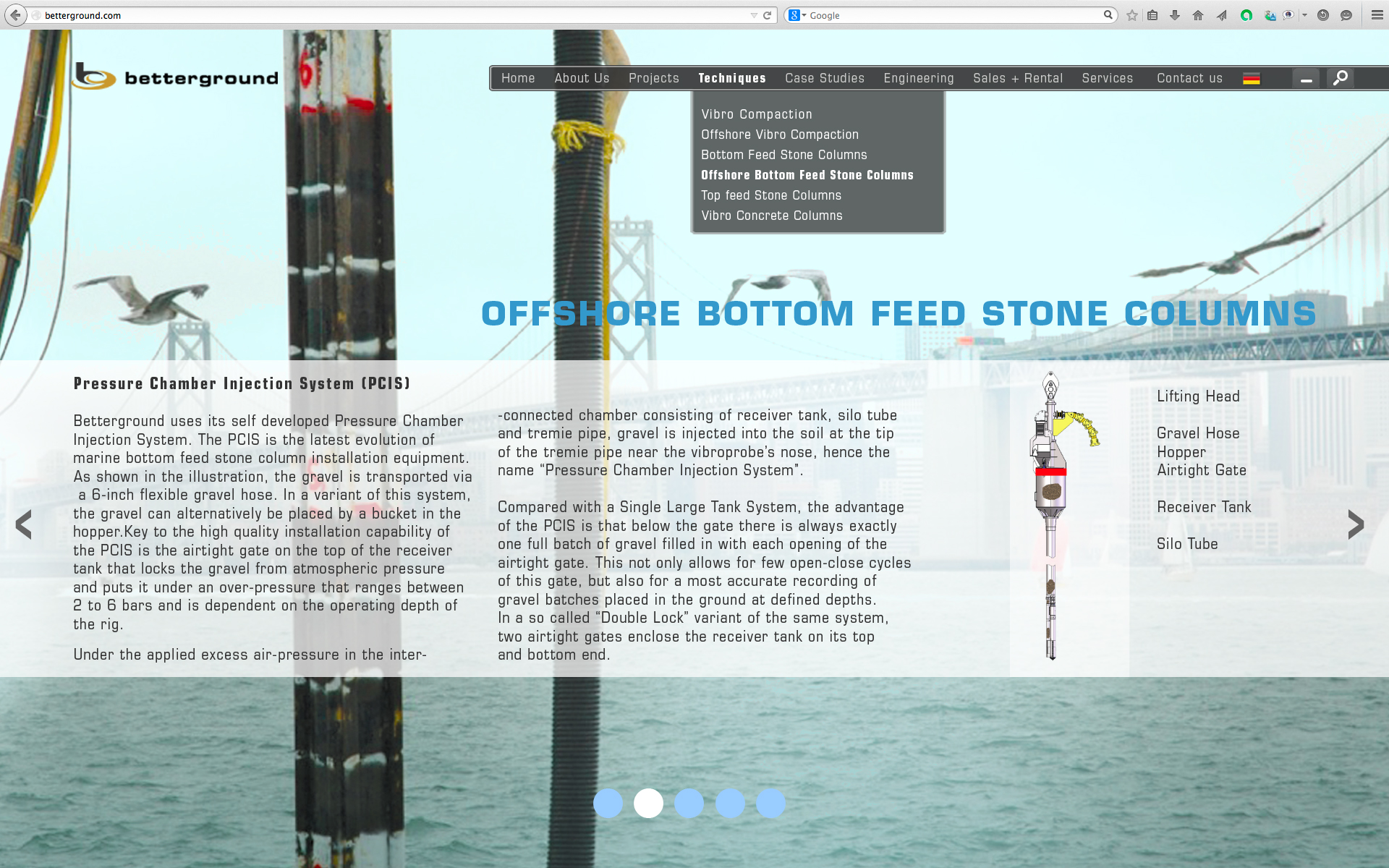 Offshore Bottom Feed Stone Columns 2