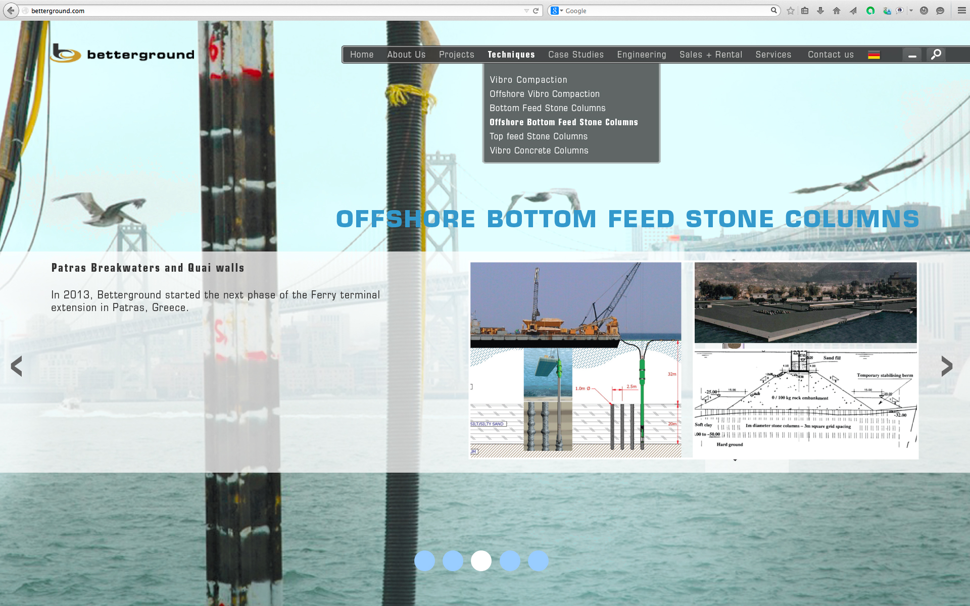 Offshore Bottom Feed Stone Columns 3