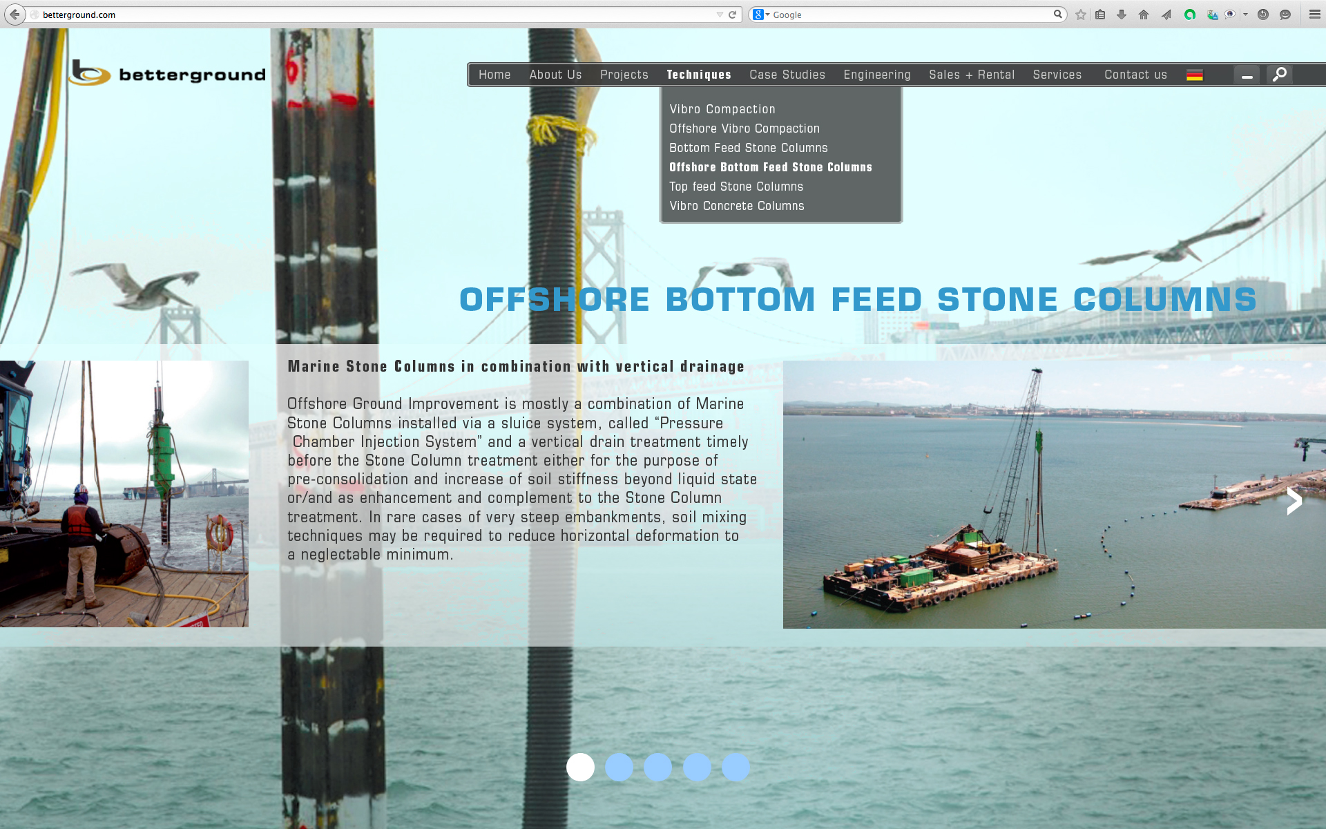 Offshore Bottom Feed Stone Columns 1