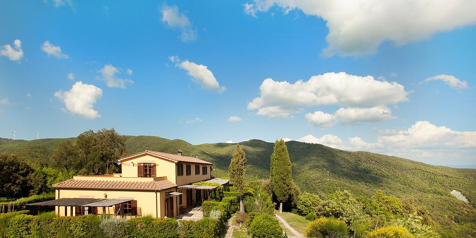 Yoga Retreat in Tuscany with Nadia and Luka
