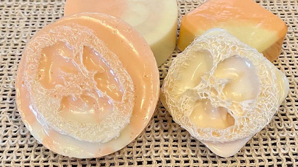 Citrus Loofah Scrub