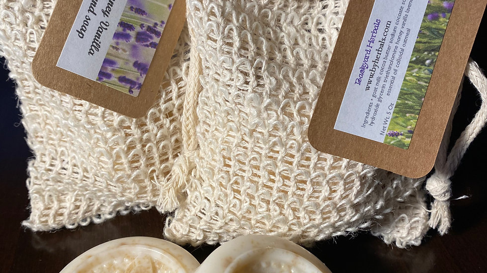 Lavender Honey Vanilla Oatmeal Handsoap