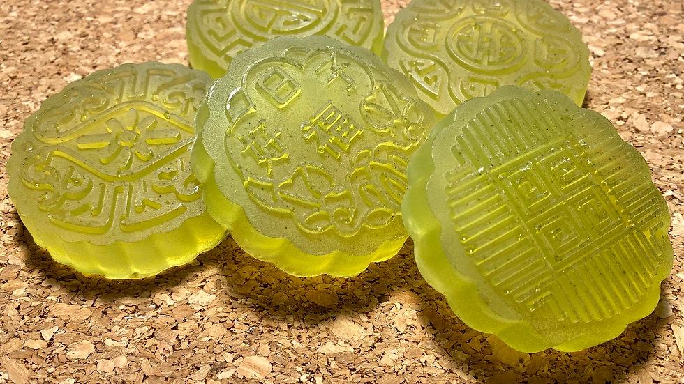 Shampoo Bar: Argan Oil Coconut Oil Green Cucumber and Green Tea