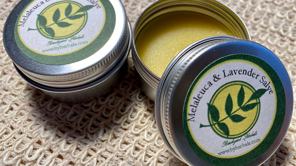 1 Oz Melaleuca and Lavender Hand and Cuticle Salve