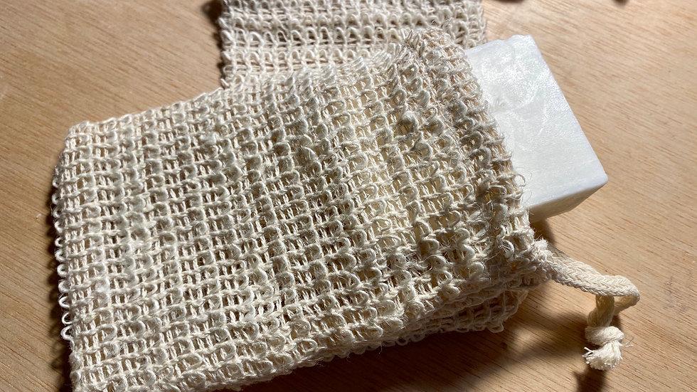 Natural Fiber Sisal Soap Sack