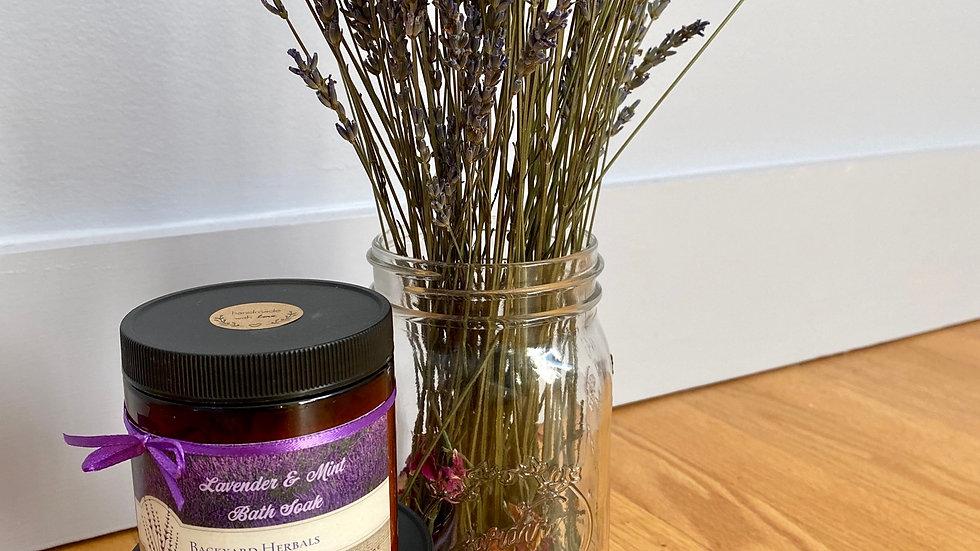 16 Oz. Lavender & Mint Bath Soak