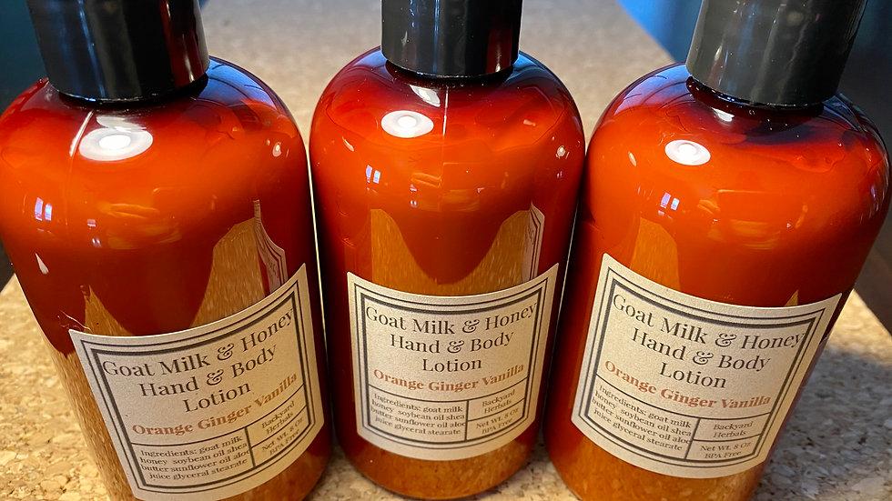Goat Milk & Honey Hand and Body Lotion