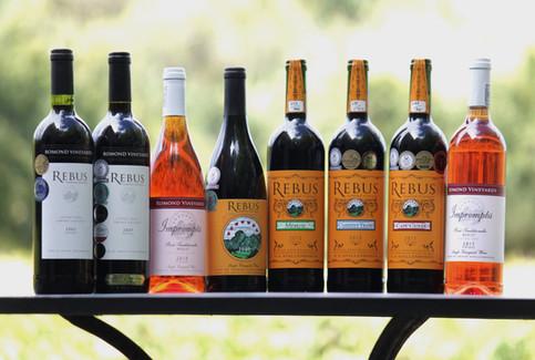 Rebus Full wine label range