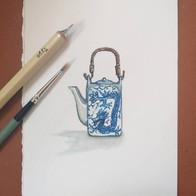 Miniature watercolour