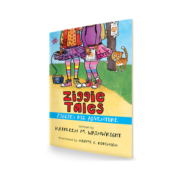 Ziggie Book Cover, Front Cover Design