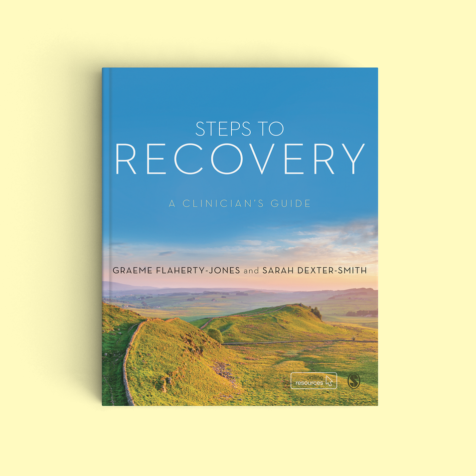 Steps to Recovery Book Cover Design