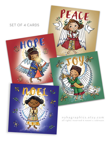 Christmas Cards Nyha Cards 2020 Set of 4