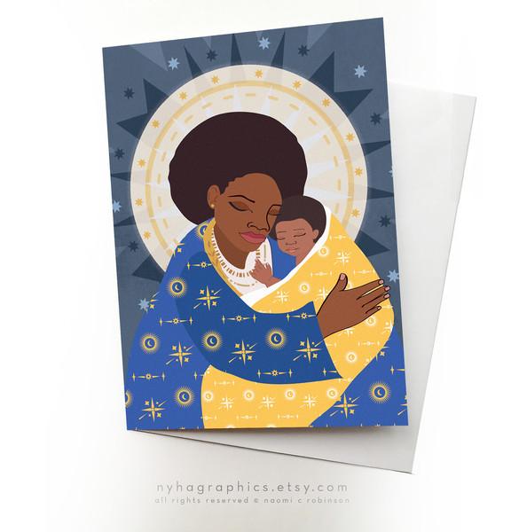 Black Women Cards Nyha Cards SIS11w.jpg