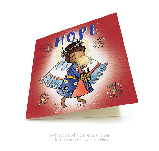 Christmas Cards by Naomi C Robinson Nyha