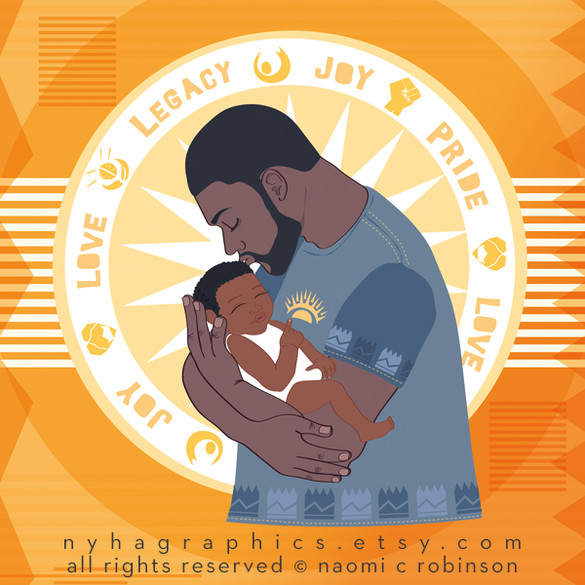 Black-Father-and-Black-child-Nyha-Graphi