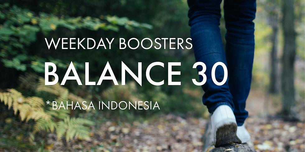 Balance @30