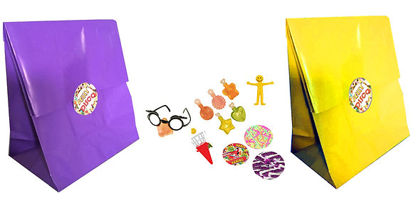 Unisex Jelly Disco Party Bag