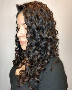 Curls should look like they just effortl