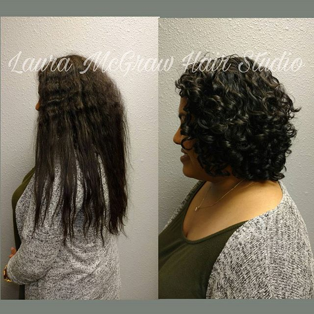 When will you be ready to remove your relaxed or heat damaged hair_ That is a question that only you