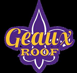 Geaux Roof Logo