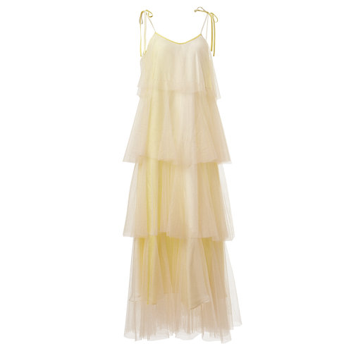 ss18, vintage, supersweet, super sweet, see through, ruffles, frills, plain, nightie, dress, night gown, moumi, gown, glitter